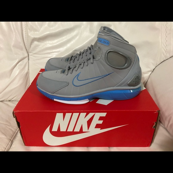 a35bdc10c2e6 Nike Air Zoom Huarache 2K4 Wolf Grey Blue New